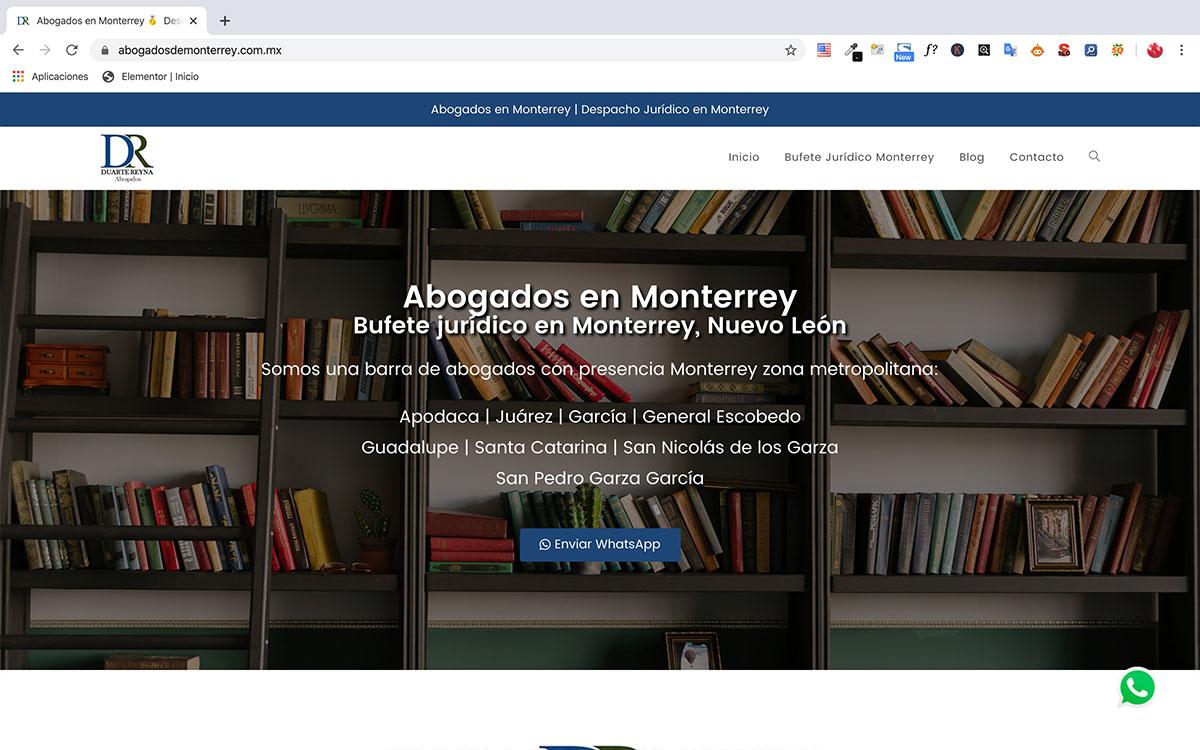 Abogados en Monterrey